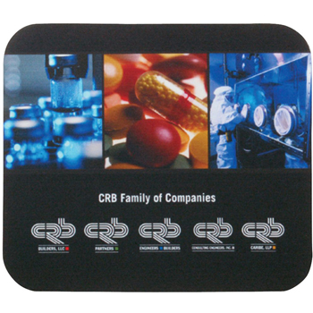"7"" x 8"" x 1/16"" Full Color Soft Mouse Pad"
