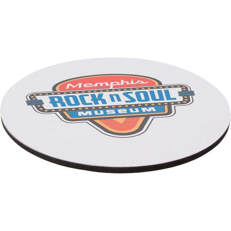 "8"" Rd 1/8"" Thick Full Color Soft Mouse Pad"
