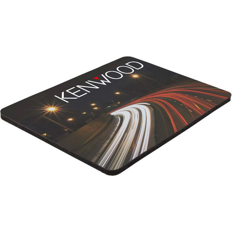 "6"" x 8"" x 1/8"" Full Color Soft Mouse Pad"