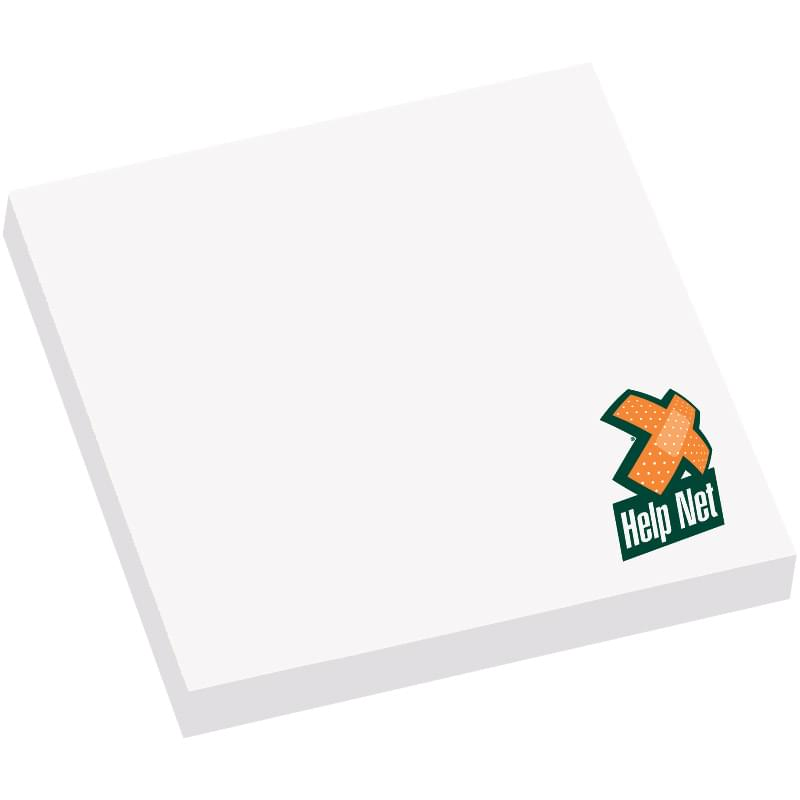 "3"" x 3"" Adhesive Sticky Notepad - 50 Sheets"