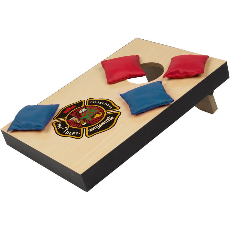 Desk Cornhole Bean Bag Toss Game