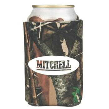Camouflage Collapsible Foam Can Holder - 2 Sided