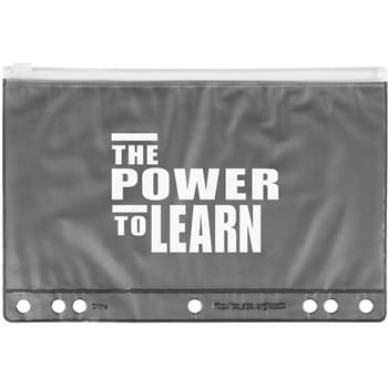 Slide Lock School Pencil Pouch
