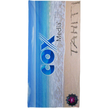 "30"" x 60"" Full Color Beach Towel"