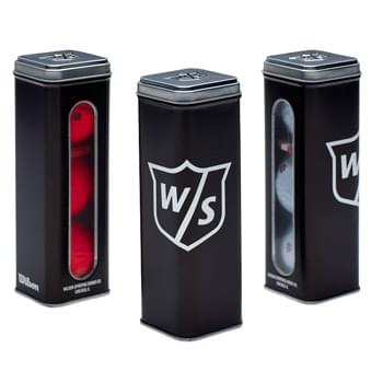 Wilson 3 Ball Tin Duo