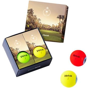 Volvik 4 Golf Ball Box