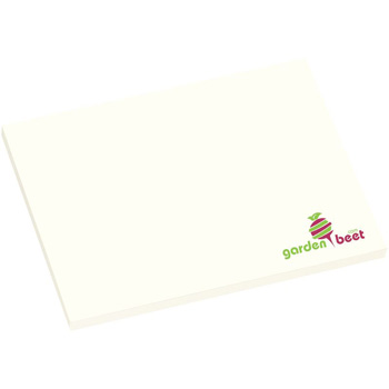 "4"" x 3"" Adhesive Notepad - 25 Sheets"