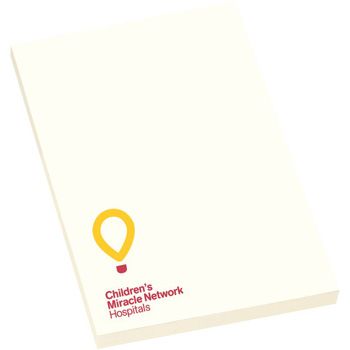 "4"" x 6"" Adhesive Notepad - 50 Sheets"