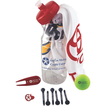 Basic Cart Caddy with Volvik Vivid Golf Ball
