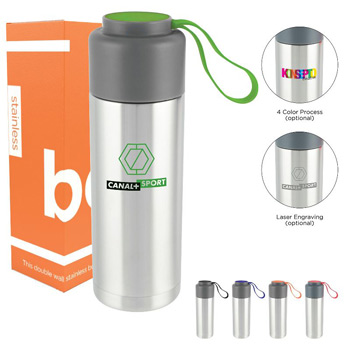 HOT DEAL - 18 oz Double Wall Stainless Bottle