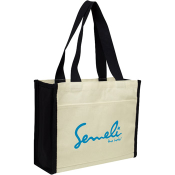 Canvas Conference Tote
