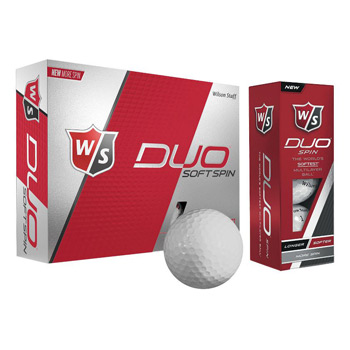 Wilson Staff Duo Soft Spin Golf Ball