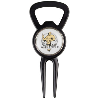 Bottle Opener Tool with Ball Marker