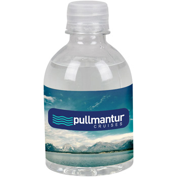 8oz Water Bottle Standard Label