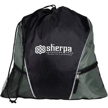 Sherpa Drawstring Backpack