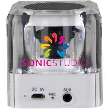 Sonic Boom Bluetooth Speaker w/Flashing LED Lights