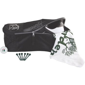 Shoe Tote Golf Kit w/ Pinnacle Rush Golf Balls