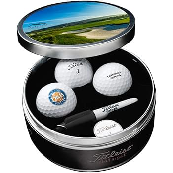 Titleist Custom Commemorative Tin Kit