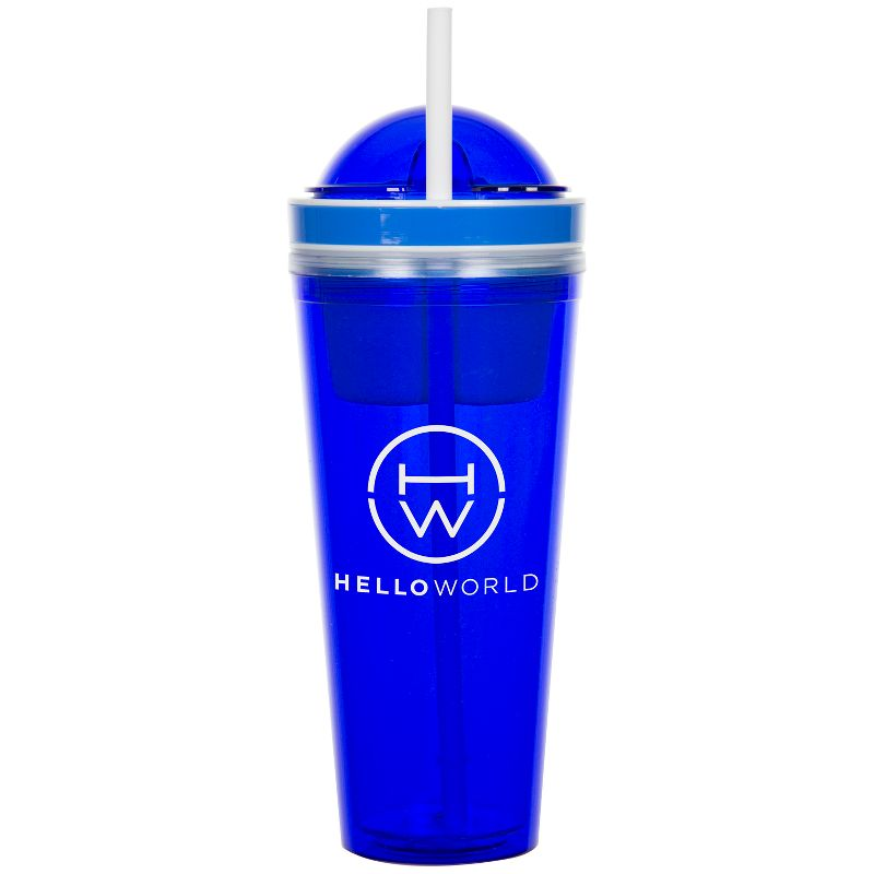 22 oz Double Wall Tumbler w/ Snackster